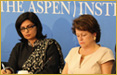 Dr. Sania Nishtar, at the Heartfile Leader�s Network launch hosted by Partners for a New Beginning, Aspen Institute in Washington DC as a keynote speaker on June 11, 2012