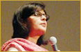 Sania Nishtar in Hiroshima, Japan on August 25, 2012: plenary speaker on �World without Structural Violence and Human Security� at the 20th IPPNW World Congress