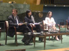 Sania Nishtar participated at the UN General Assembly Civil Society hearing on NCDs in preparation for the high level meeting as the eminent panelist on one of the three roundtables in New York, USA on June 16, 2011