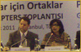 Dr. Sania Nishtar attended the PNB Global Chapter Meeting in Istanbul, Turkey as a plenary speaker and Member of the Partners for a New Beginning initiative in December, 2011