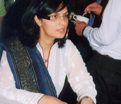 Dr. Sania Nishtar's Choked Pipes was launched by the Oxford University Press on May 04 in Beach Luxary Hotel, Karachi.