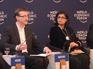Sania Nishtar in Davos 2013