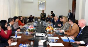 Bilateral Meeting with Queen Maxima_Nov 26