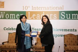 Dr. Sania inspires global women leaders
