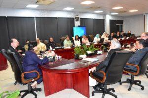 President WBG visits BISP HQs