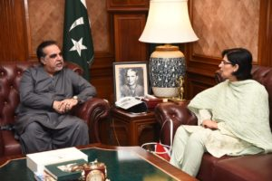 Meeting with Governor Sindh