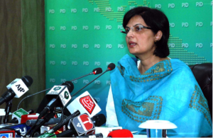 Around 80,000 interest free loans will be monthly disbursed nationwide under the Ehsaas National Poverty Graduation Initiative, Dr. Nishtar talks to media at the Press Conference
