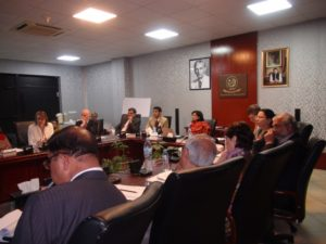 Chairperson BISP hosting the high-level consultation on nutrition