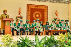 Chief Guest Dr Sania Nishtar addressing the AKU Convocation 2019