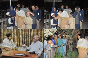 Dr Nishtar gains inspiration from visit to Anjuman Faiz ul Islam, Pakistan's Leading Charitable Organization