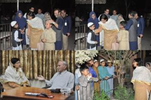 Dr Nishtar gains inspiration from visit to Anjuman Faiz ul Islam, Pakistan's Leading Charitable Organization