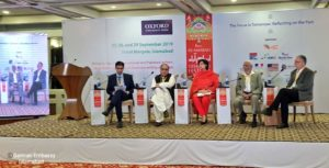 Dr Sania at Isb Literature Festival