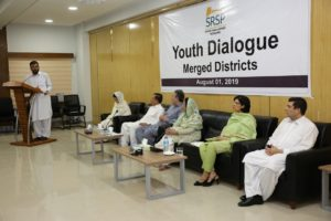 Dr. Sania Nishtar's dialogue with youth from newly merged districts of North Waziristan, South Waziristan and Khyber