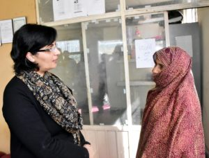 Dr. Sania Nishtar, SAPM on Social Protection & Poverty Alleviation visited an Ehsaas partner loans office today in outskirts of the federal capital.