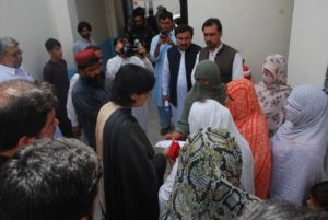 Sania Nishtar visits BISP offices in Quetta and Pishin