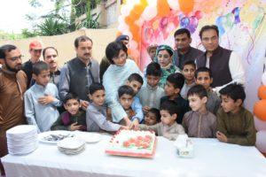 Sania visits welfare homes on Eid day