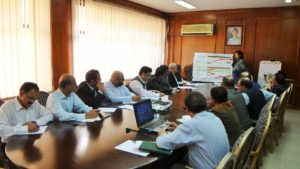 Weekly Ehsaas Implementation Committee Meeting