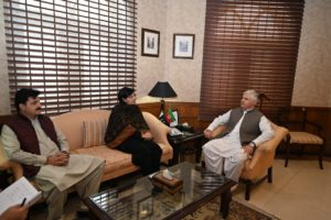 With CM KP