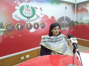 Dr. Sania Nishtar holds a radio program Raabta to guide Ehsaas Emergency Cash beneficiaries