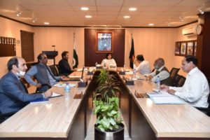 Dr. Sania holds a meeting to firm up Ehsaas individual financial assistance policy