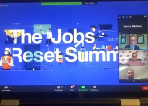 "Dr.Sania Nishtar speech at World Economic Forum's _A New Vision for Social Protection_ at the ""Jobs Reset Summit"""