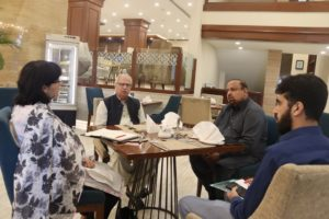 Dr.Sania Nishtars meeting in Multan with Ehsaas regional team