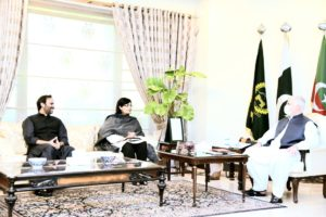 Dr.Sania Nishtars meeting with Chief Minister KP in Peshawar