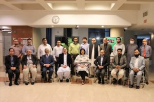 Dr.Sania Nishtars visit to NTC HQ