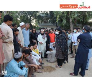 Dr.Sania Nishtars visit to Peshawar Mor Panagah and Langar Khana