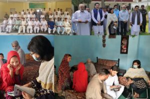 Ehsaas survey kicks off in KP; Sania herself enrols first household in Malakand