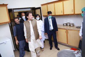 Prime Ministers visit to Ehsaas Model Panagah