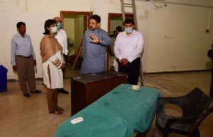 SAPM Sania Nishtar oversees the ongoing renovation at Tarlai Panagah in Islamabad