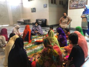 Sania celebrates Eid with the destitute women and girls at Edhi Home