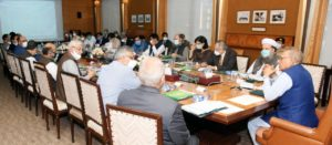Sania joins the 3rd meeting of Population Taskforce under the chair of President of Pakistan